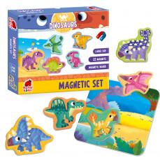 Magnetfiguren Set «Dinosaurier»
