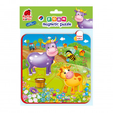 Foam Baby Magnetpuzzles «Wiese»