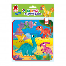 Foam Baby Magnetpuzzles «Dinosaurier»