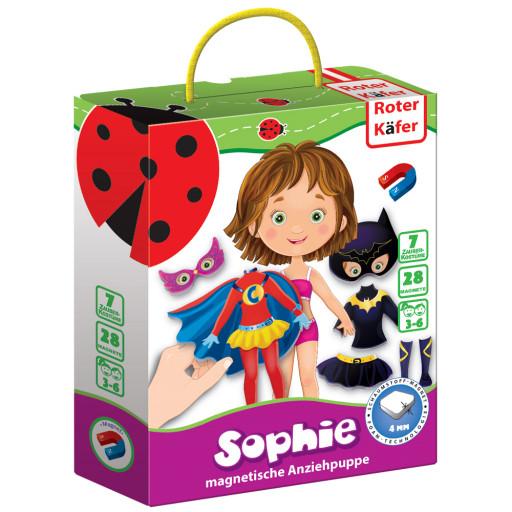 Magnetspiel Anziehpuppe «Sophie»