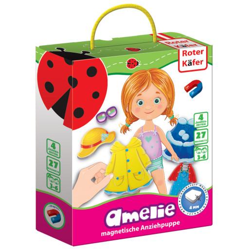 Magnetische Anziehpuppe «Amelie»