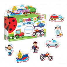 Magnetfiguren Set für Kleinkinder «Transport»