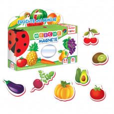 Magnetfiguren Set für Kleinkinder «Früchte & Gemüse»