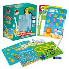 Lernspiel mit Stift «Schreib und wisch weg. Zoo»